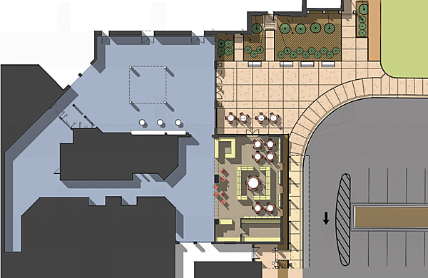 Taylors FBC Entrance Plan